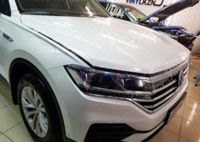 Новый VW Touareg — бронирование кузова полиуретановой пленкой
