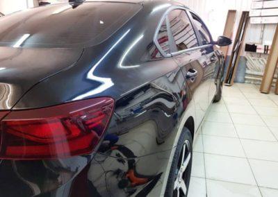 Забронировали полиуретановой пленкой кузов автомобиля Kia Cerato