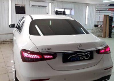 Mercedes E Class — тонировка стекол автомобиля пленкой Llumar