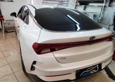 Тонировка стекол автомобиля Kia K5 пленкой ULTRAVISION SUPREME THERMO