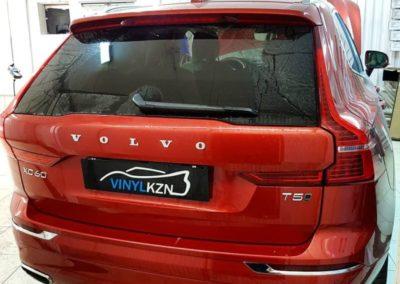 Volvo XC60 — установили омыватель камеры заднего вида
