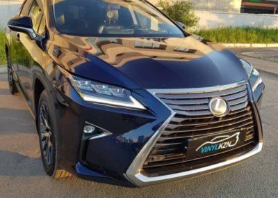 Lexus RX — демонтаж полиуретановой пленки после 5 лет эксплуатации
