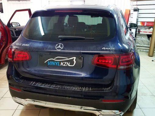 Mercedes GLC 200 — тонировка стекол автомобиля пленкой Llumar 80%