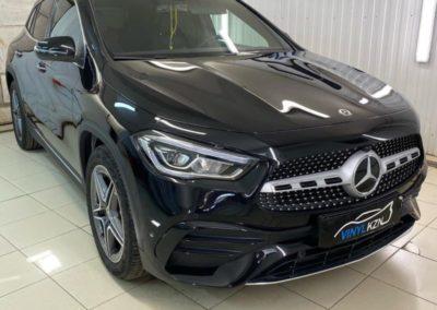 Бронирование полиуретановой пленкой нового автомобиля Mercedes GLA