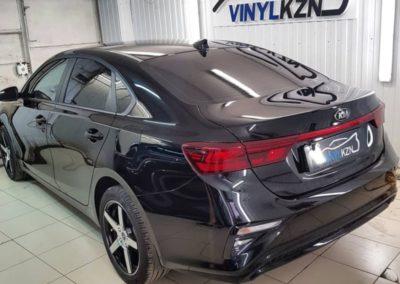 Бронирование всего кузова автомобиля Kia Cerato полиуретановой пленкой