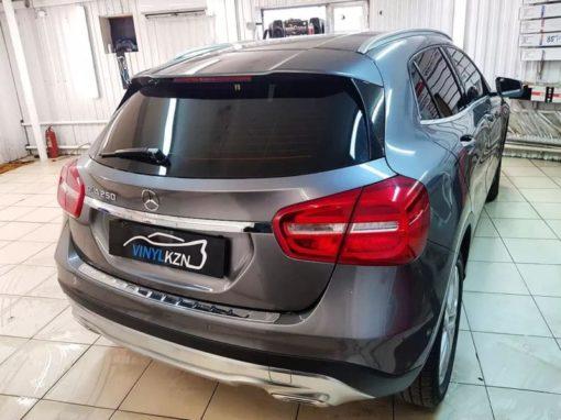 Mercedes Benz GLA — тонировка стекол пленкой Llumar ATR c 95% затемнения