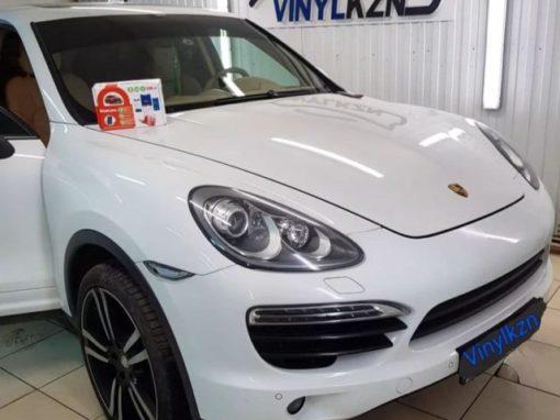 Установили охранный комплекс StarLine S96 на автомобиль Porsche Cayenne