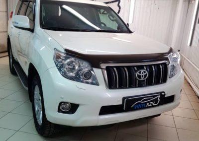 Бронирование бамперов автомобиля Toyota Land Cruiser Prado