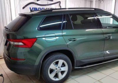 Skoda Kodiaq — тонировка стекол автомобиля пленкой Llumar ATR
