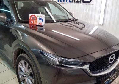 Mazda CX5 — бронирование кузова полиуретановой пленкой, установка автосигнализации StarLine S96