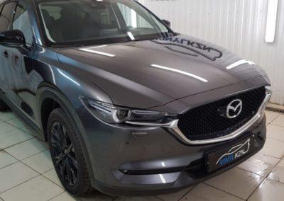Mazda CX-5 — забронировали переднюю часть и все зоны риска повреждения полиуретановой пленкой