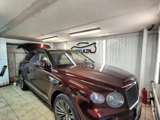 Bentley Bentayga — отполировали и забронировали зоны риска повреждения