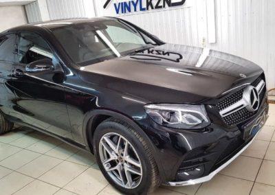 Mercedes GLC- отполировали кузов автомобиля, нанесли 2 слоя керамики