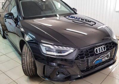 Audi A4 — бронирование кузова полиуретановой пленкой Suntek