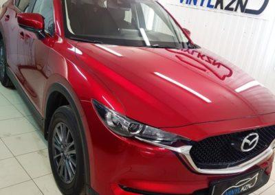 Mazda CX5 — бронирование капота с полиуретаном, полировка кузова с нанесением керамики