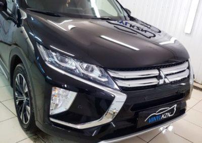 Бронирование лобового стекла автомобиля Mitsubishi Eclipse